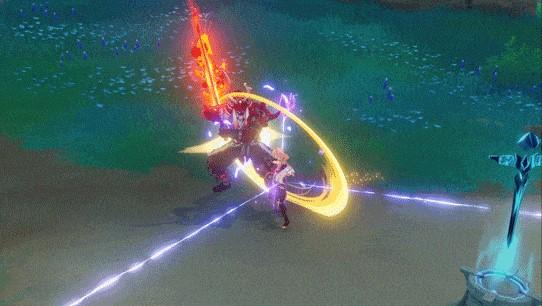 Genshin Impact Thunder Sojourn Weaving Lightning
