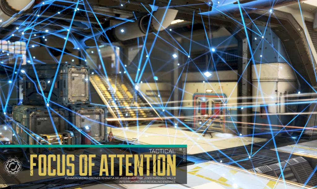 Apex Legends Seer Capacité tactique - Centre d'attention