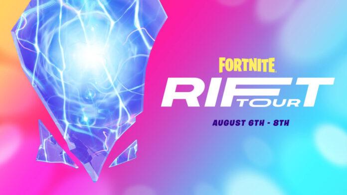 Emplacements des affiches Fortnite Rift Tour: Comment obtenir le spray Rift-sterpiece