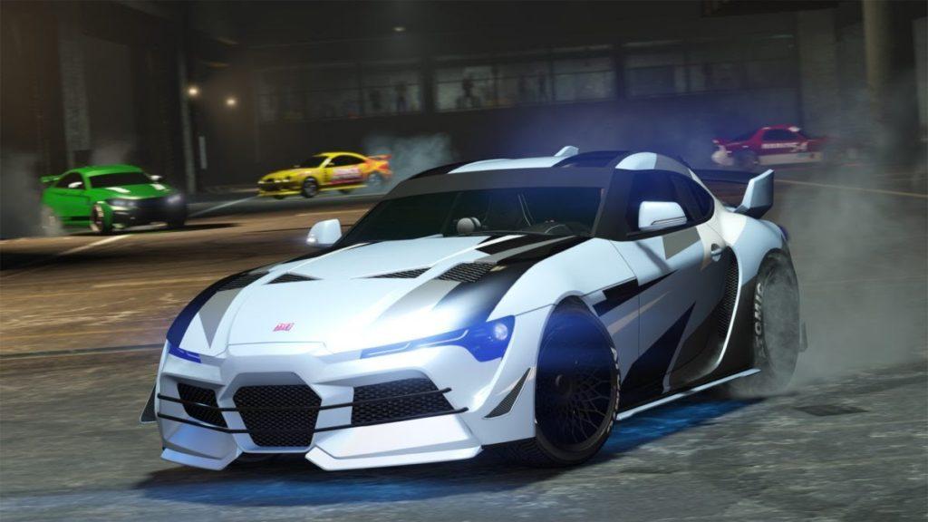 Comment démarrer une série de courses de rue dans GTA Online