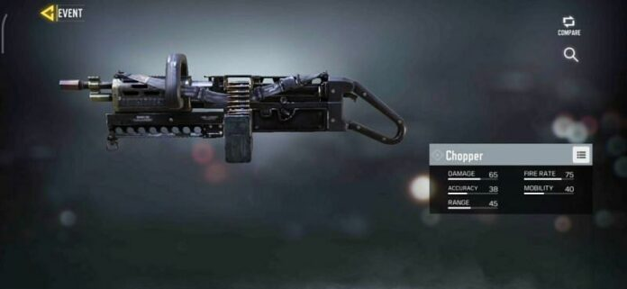Best Chopper gunsmith loadout for COD Mobile Season 6