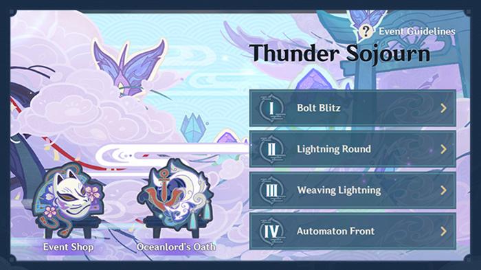 Genshin Impact Thunder Sojourn agit