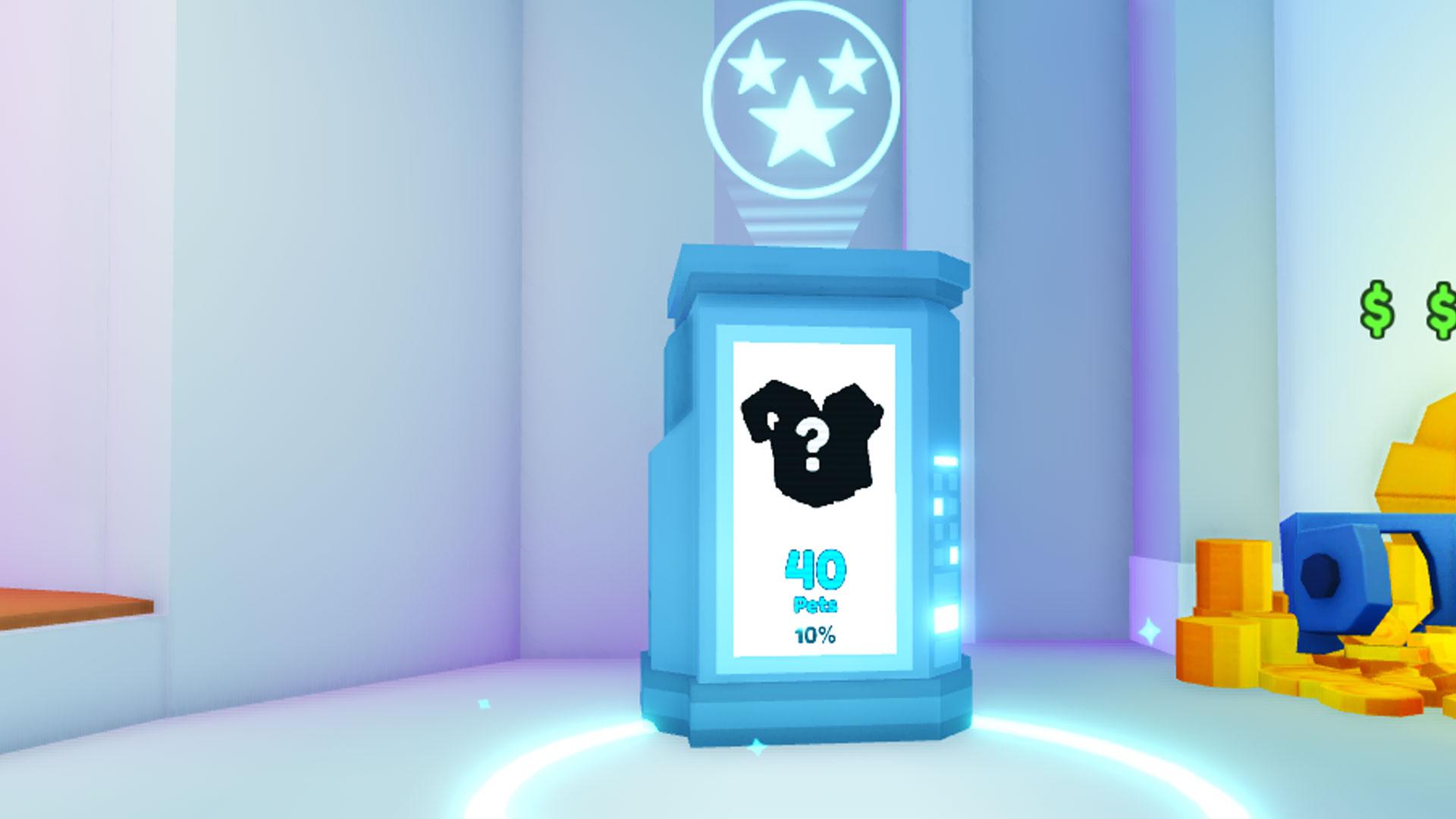 Machine de collecte d'animaux Pet Simulator X