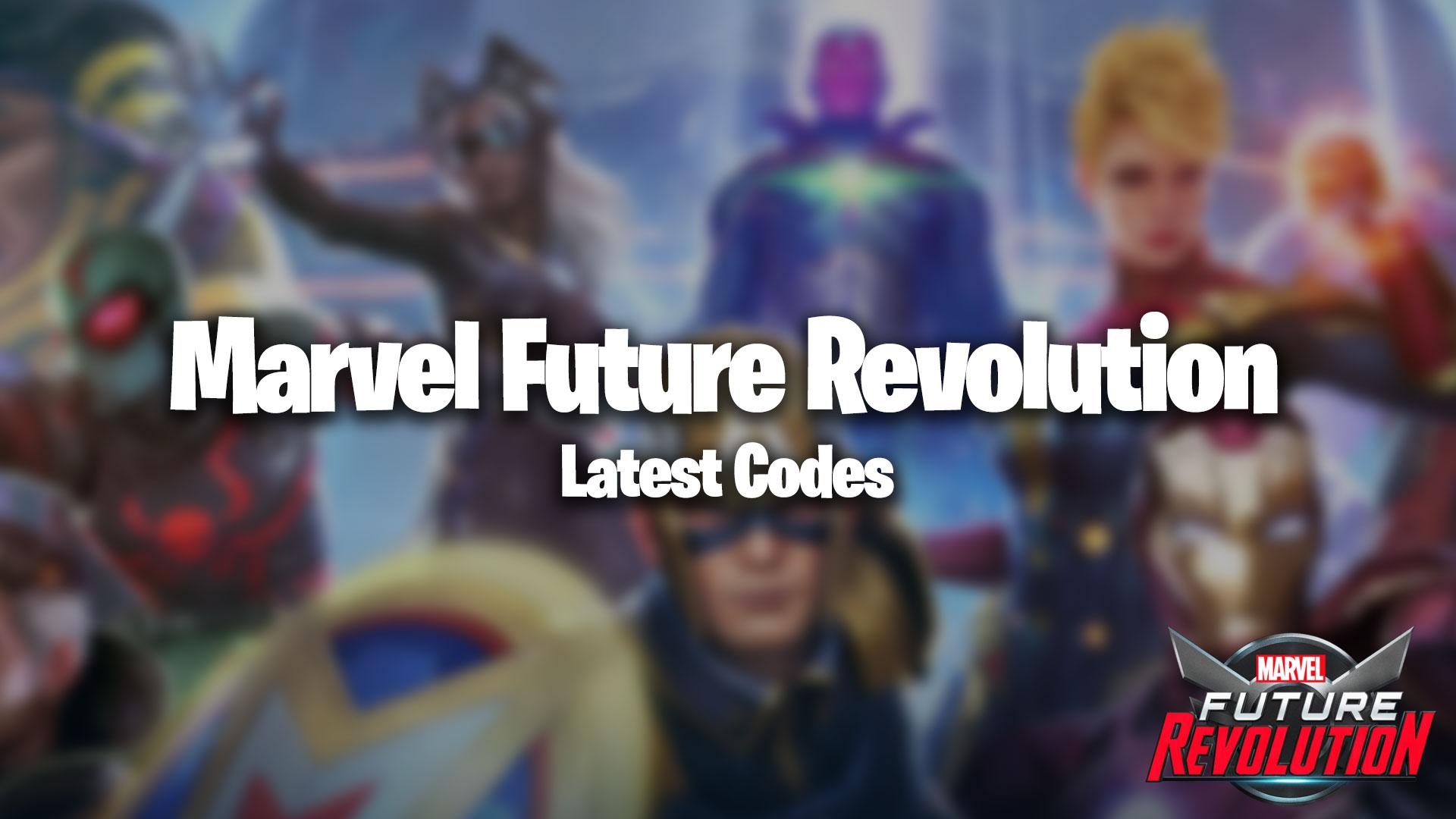 Codes de la révolution future de Marvel
