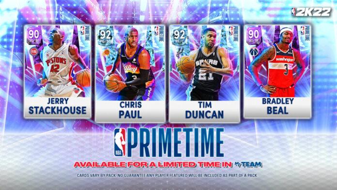 NBA 2K22 accueille Primetime, la deuxième série d'articles pour MyTeam