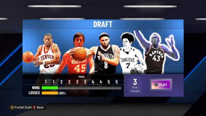 NBA 2K22 introduit un nouveau mode de jeu dans MyTeam : Draft